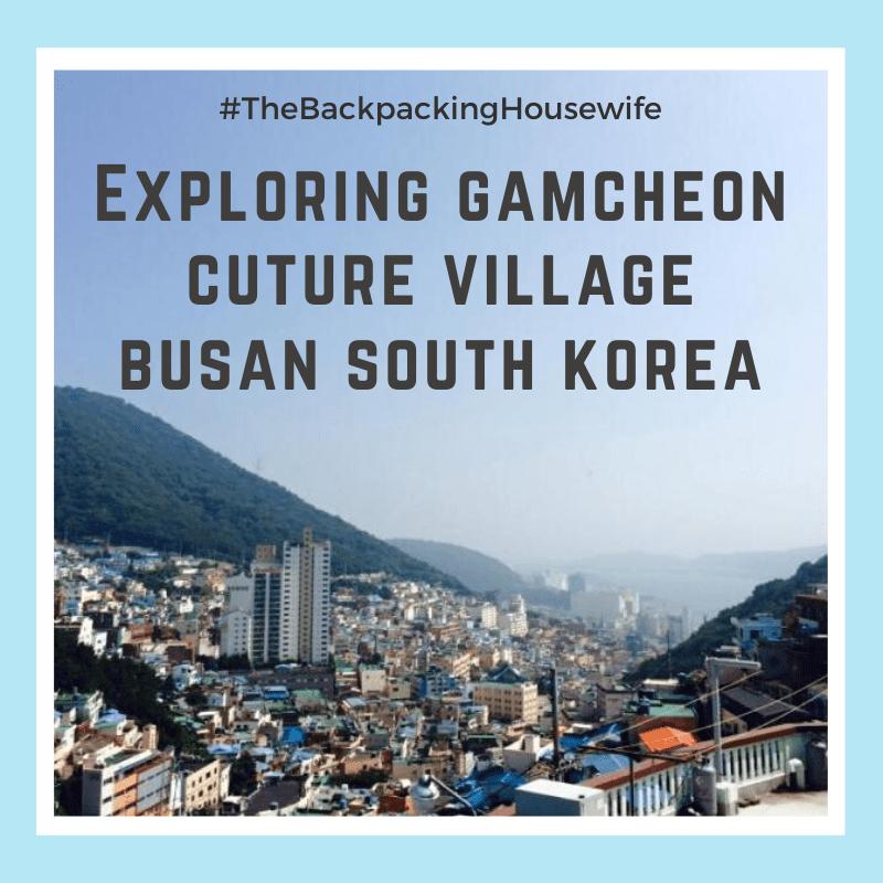Gamcheon Village Busan