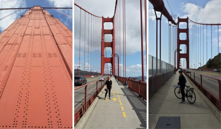 The Backpacking Housewife Golden Gate Bridge cycle