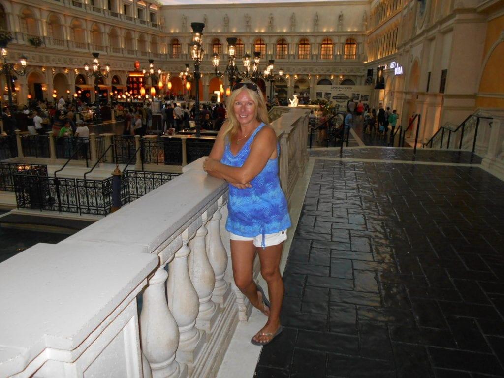 The Backpacking Housewife in The Venetian Hotel Resort Las Vegas