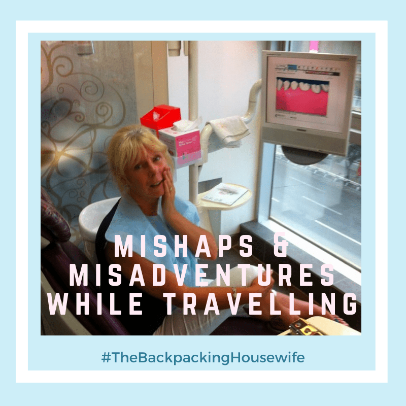 The Backpacking Housewife Mishaps