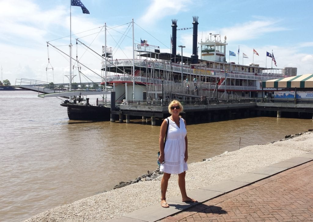 The Backpacking Housewife on the Mississippi River
