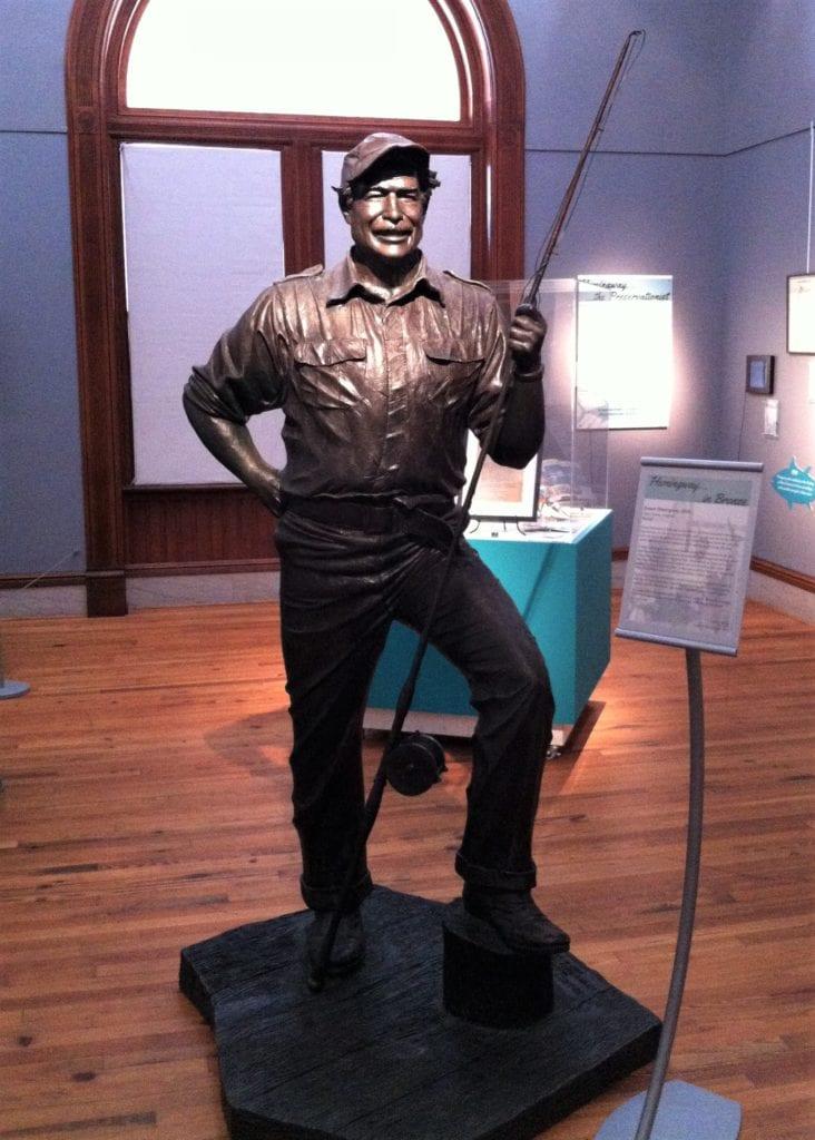 Hemingway in bronze The Backpacking Housewife
