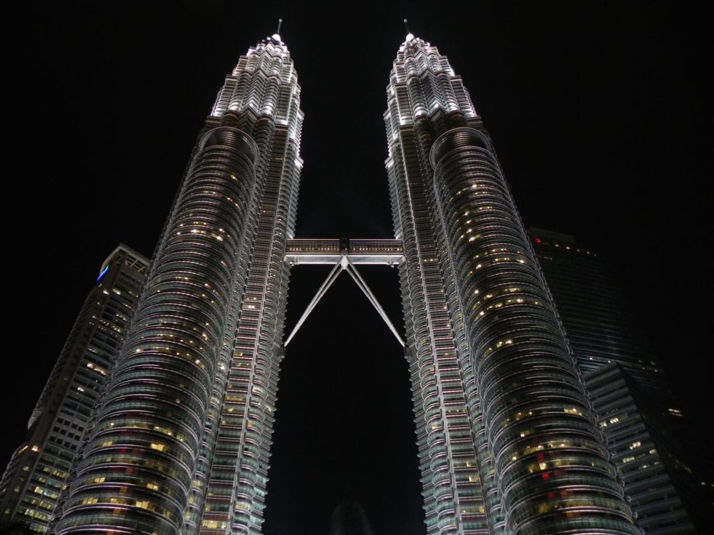 The Petronas Twin Towers KL The Backpacking Housewife