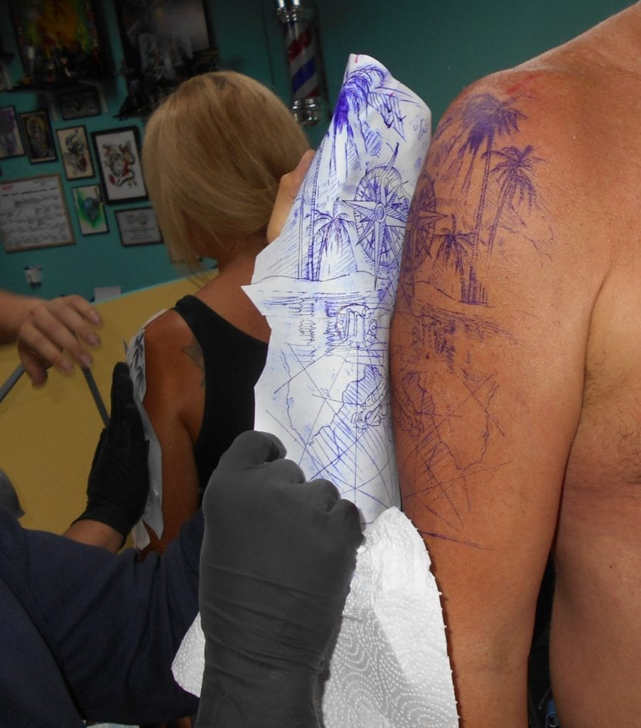 The Backpacking Housewife Travel tattoo