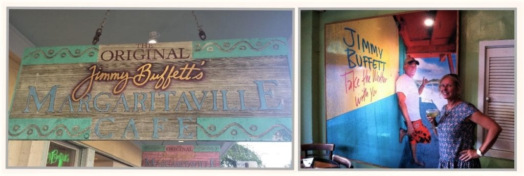 The original Jimmy Buffett's Margaritaville is in Key West The Backpacking Housewife