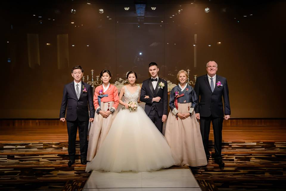 Horton Wedding in South korea