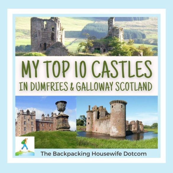 TOP 10 CASTLES THE BACKPACKING HOUSEWIFE