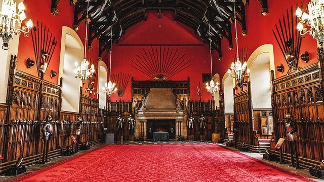 The Great Hall Edinburgh castle