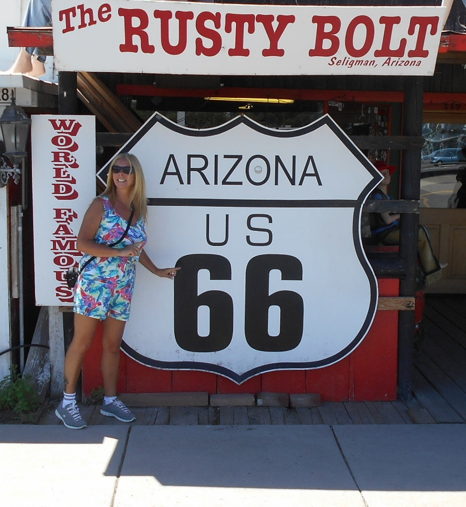 The Backpacking Housewife on Route 66