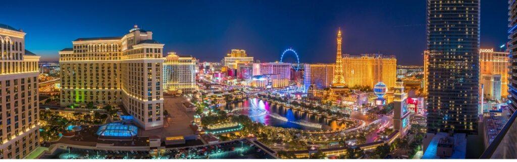 Las Vegas The Strip Entertainment