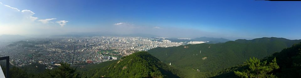 The City of Daegu is South Korea's 4th largest city