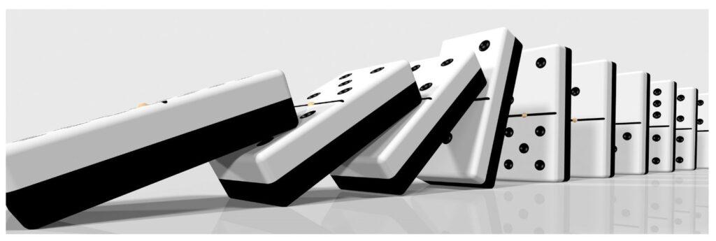 Plans falling like dominoes