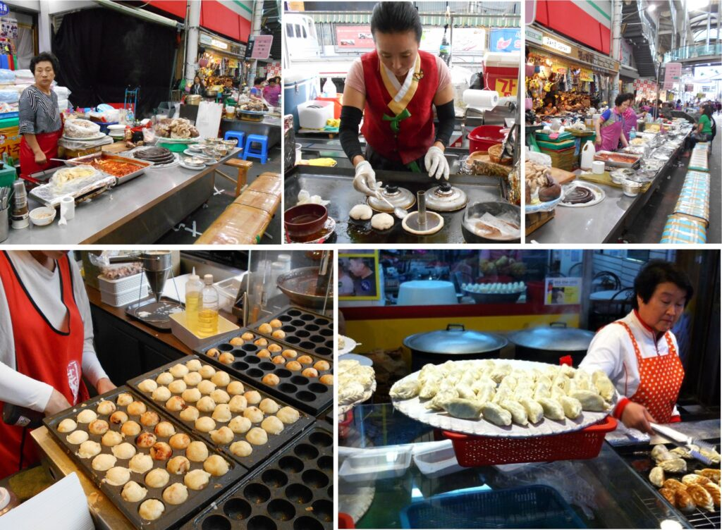 Korean Street food is fantastic. Photo The Backpacking Housewife