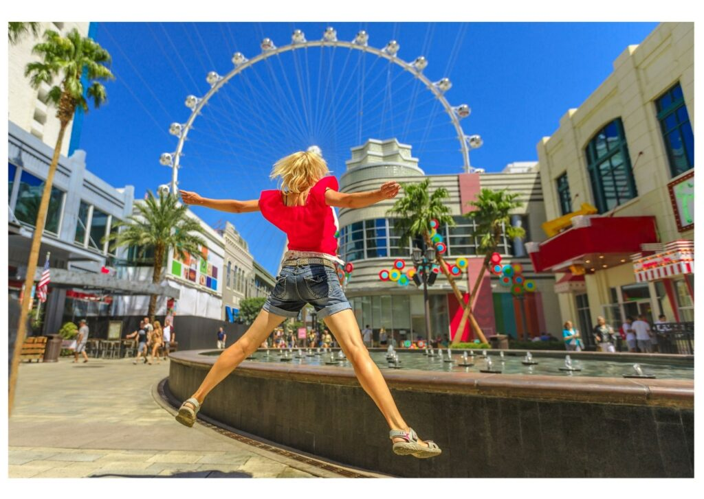 Ride The High Roller in Las Vegas