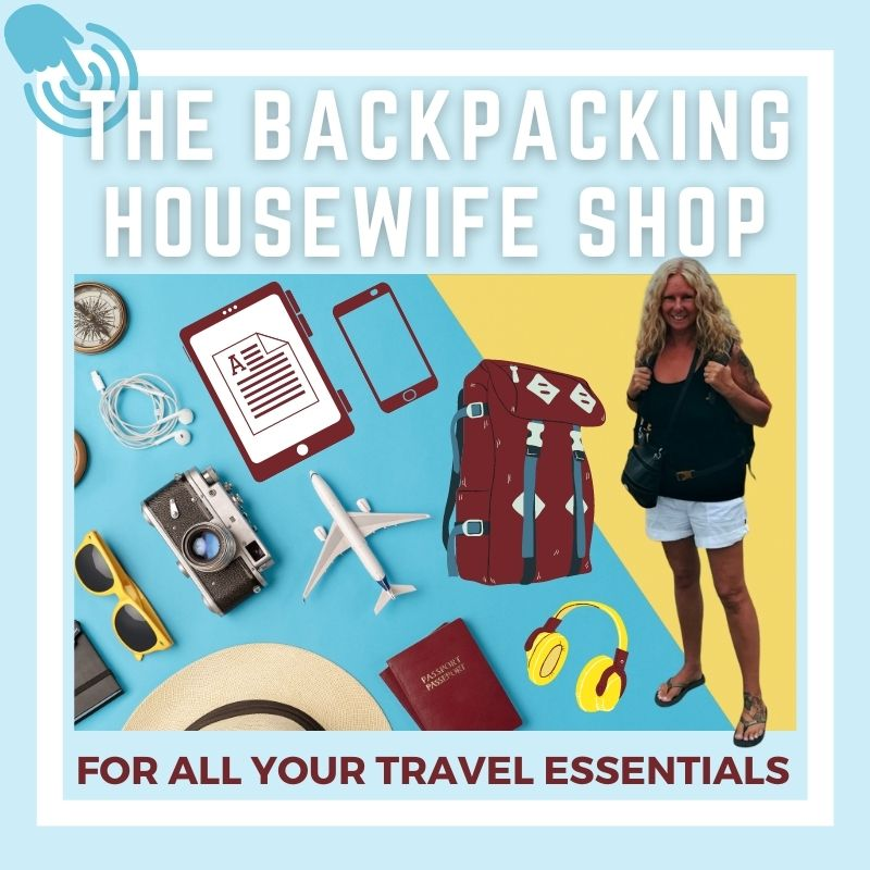 The Backpacking Housewife SHOP