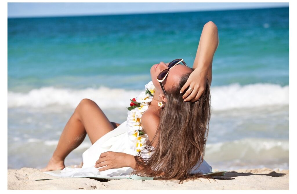 Are you a beach babe. The Backpacking Housewife