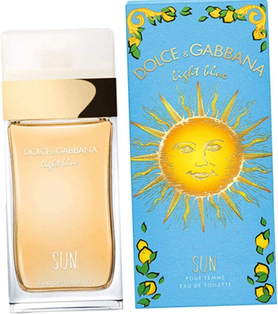Dolce and Gabbana Light Blue Sun: