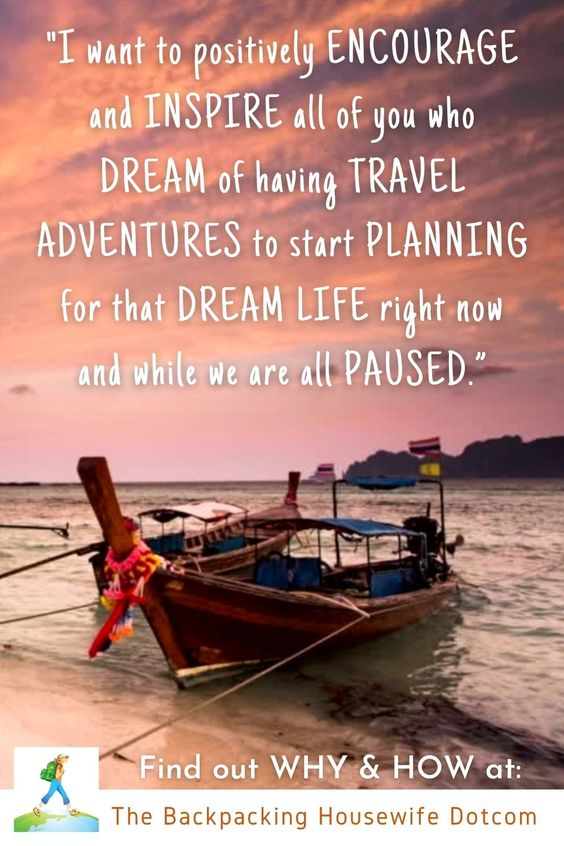 Have you ever dreamed of selling everything and taking off to travel the world?