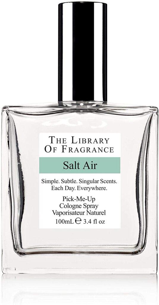 Library of Fragrance Salt Air Cologne Spray: