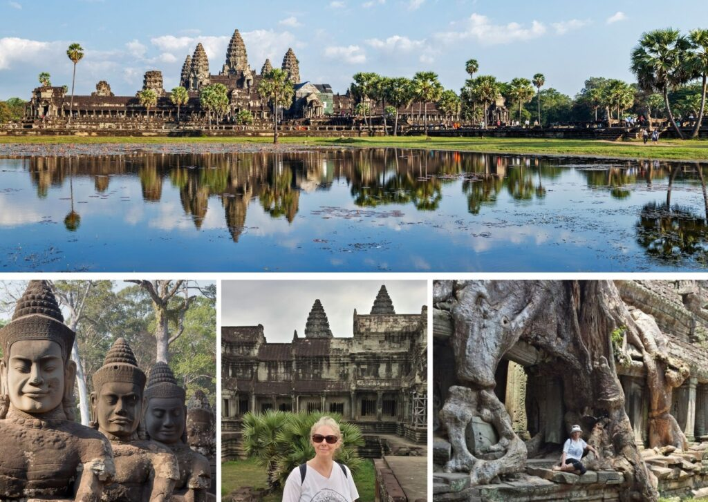 The temples at Angkor Wat. The Backpacking Housewife