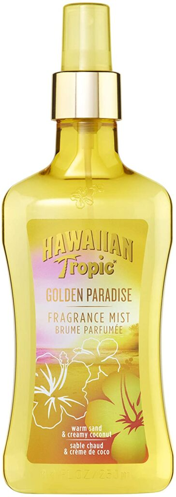 Hawaiian Tropic Golden Paradise Fragrance Mist: