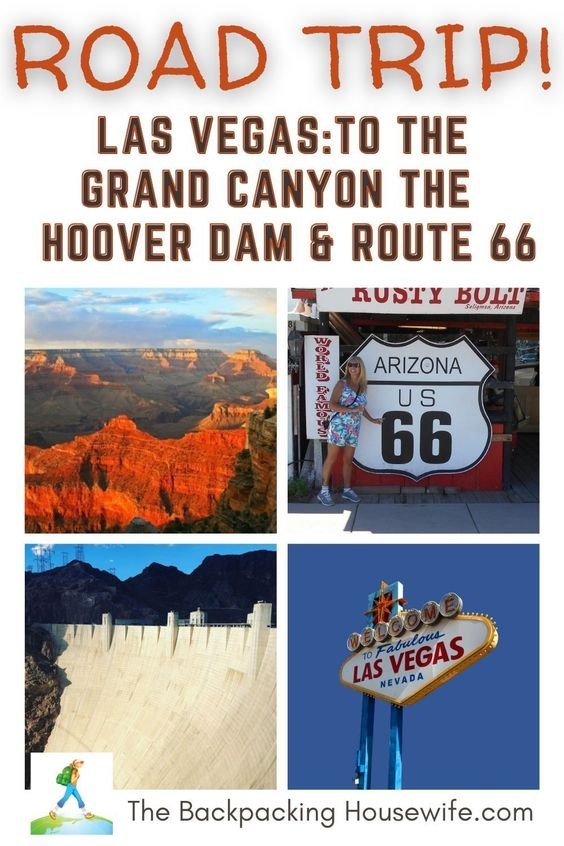 Las Vegas To The Grand Canyon The Backpacking Housewife