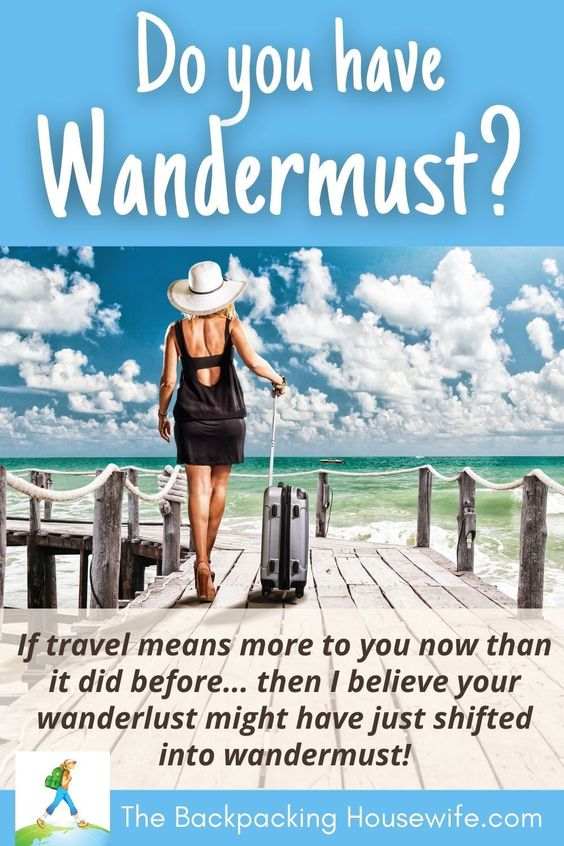 Wandermust with The Backpacking Housewife