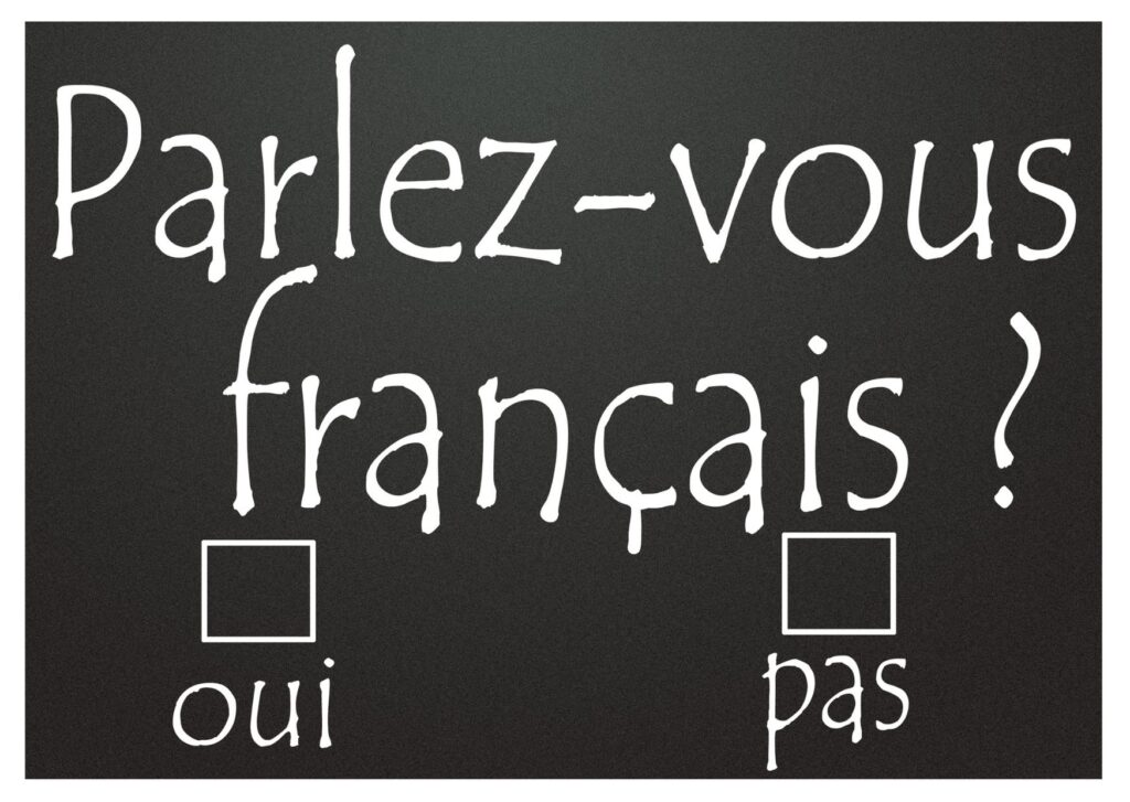 Do You Speak French? The Backpacking Housewife