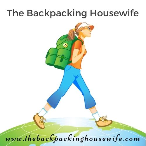 The Backpacking Housewife Logo