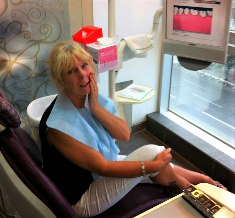 The Backpacking Housewife at The Happy Dentist in South Korea