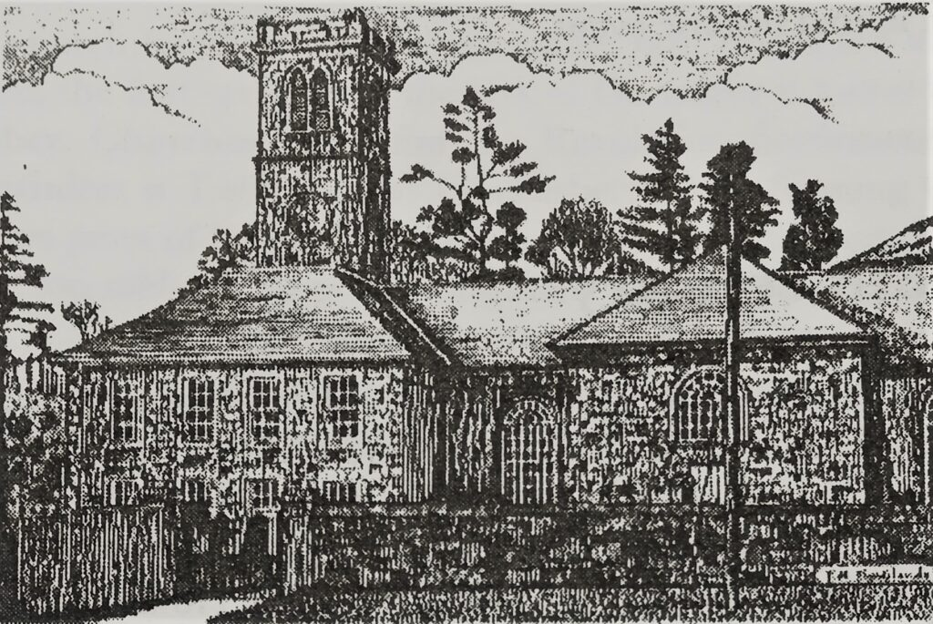 Sketch Durisdeer Church