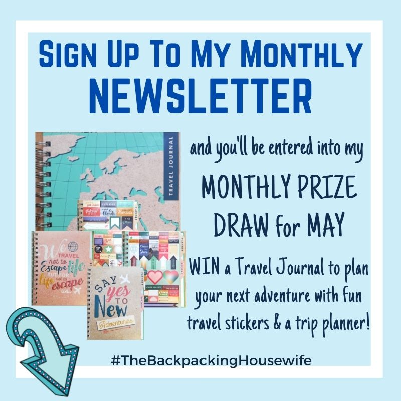 Newsletter sign up May