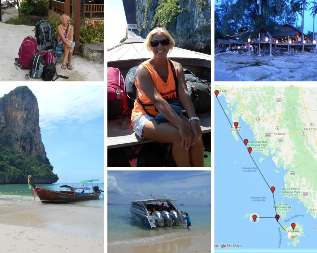 The Backpacking Housewife spent a month backpacking and tropical island-hopping along Thailand's Andaman Sea.