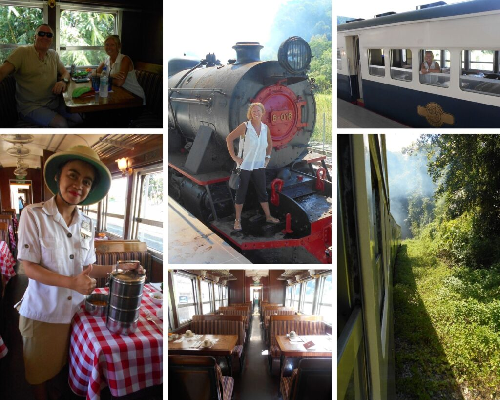 All Aboard The North Borneo Express for a fabulous old train experience!