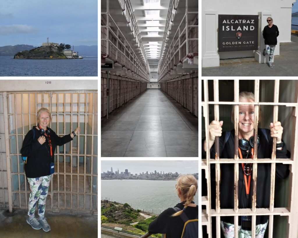 The Backpacking Housewife at Alcatraz Island Prison