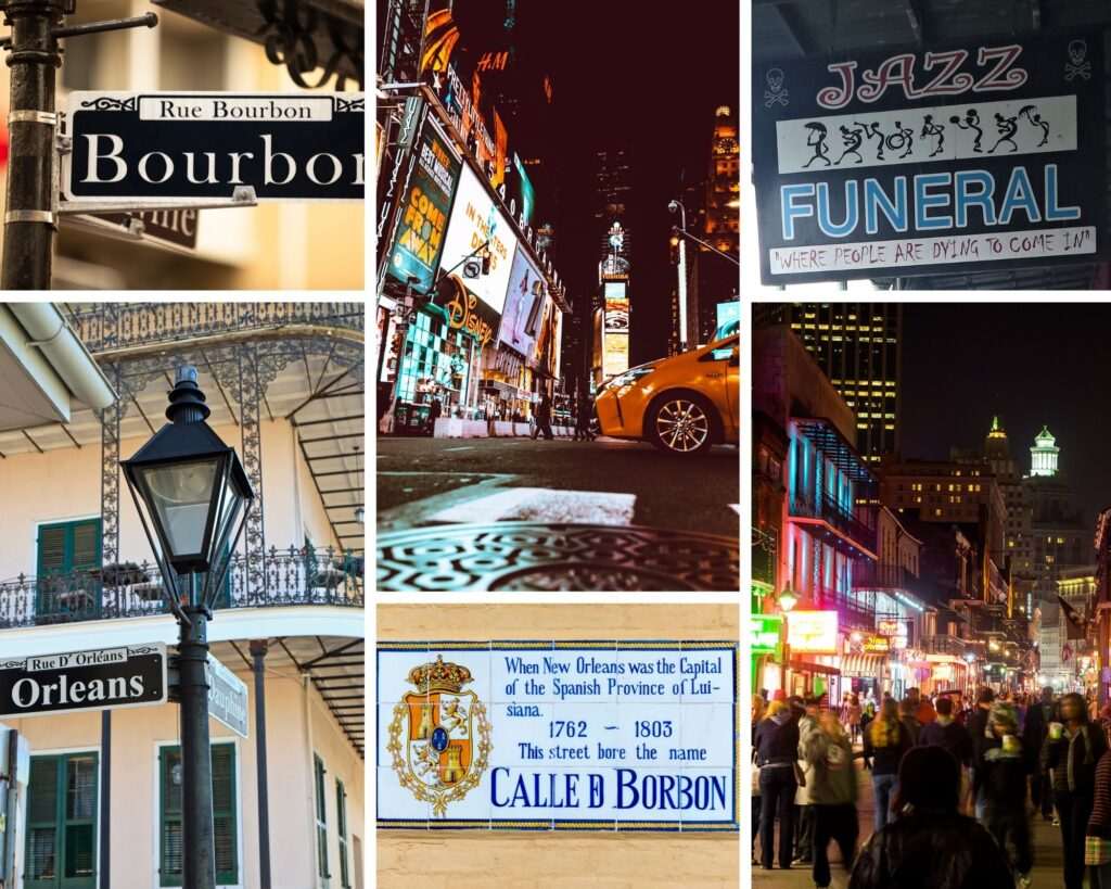 Bourbon Street New Orleans The Backpacking Housewife