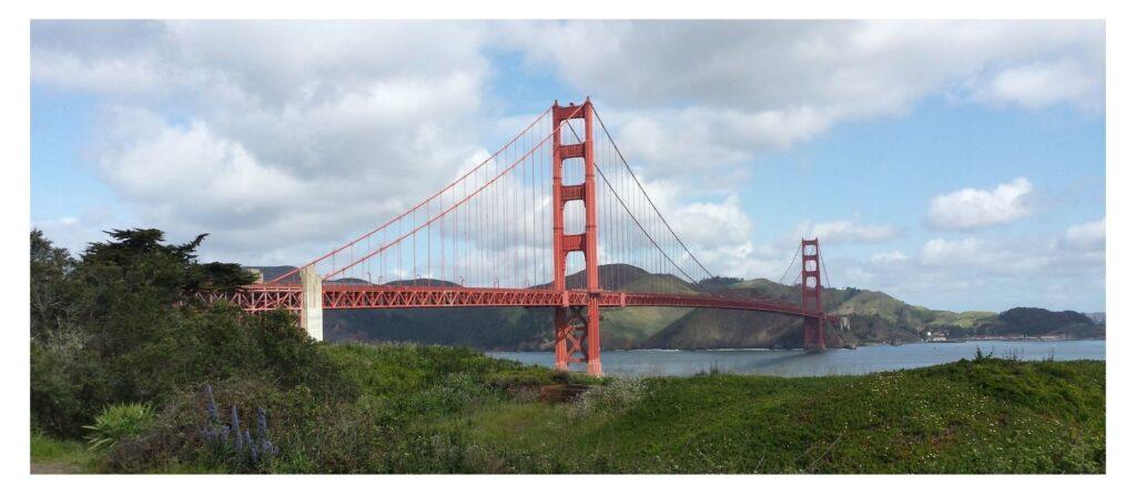 The Golden Gate Bridge Photo copyright Janice Horton
