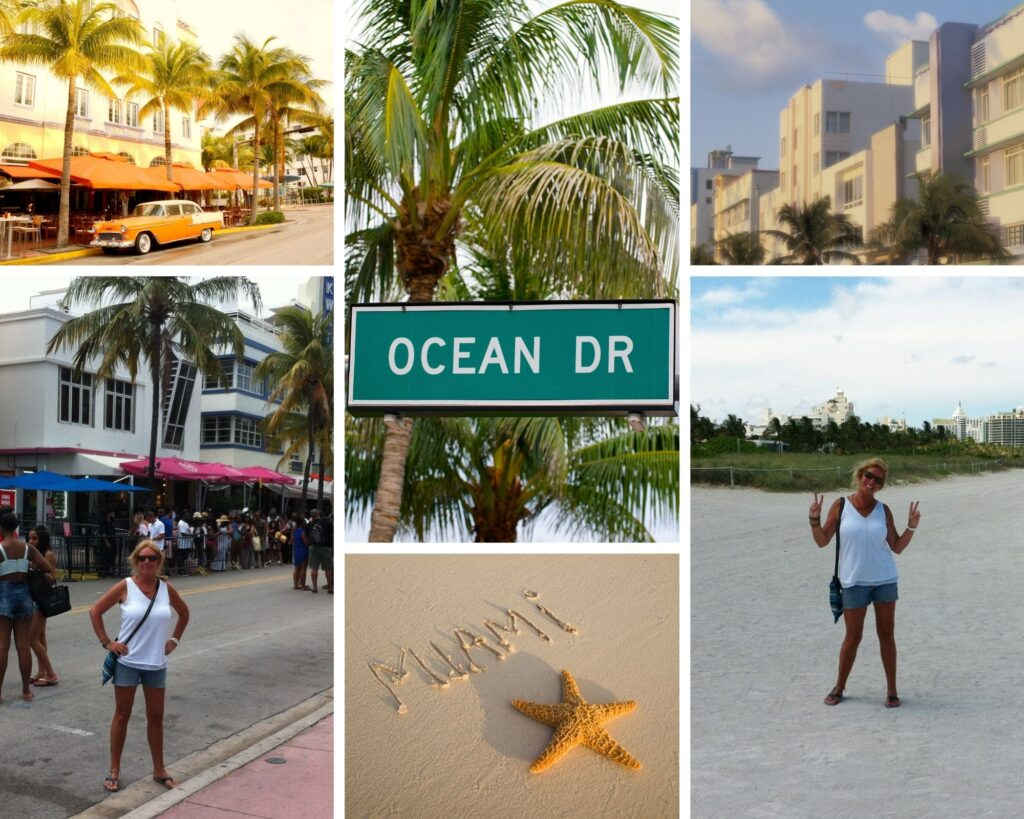 The Backpacking Housewife on Ocean Drive Miami Beach Florida